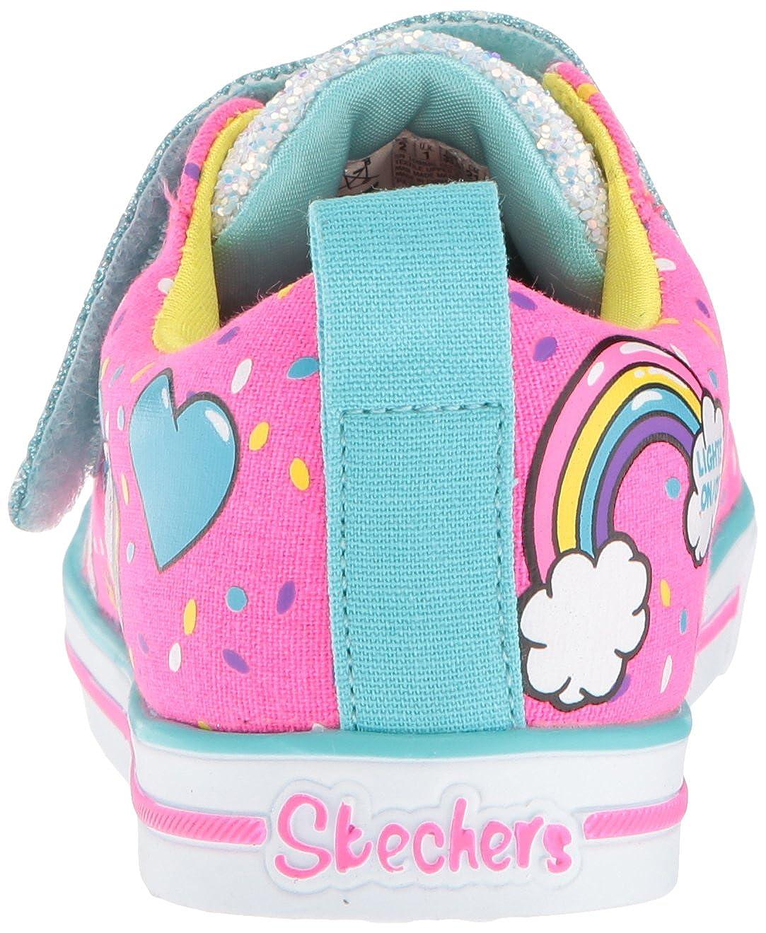 Skechers TT Sparkle Lite Unicorn Craze Girls Casual Shoes