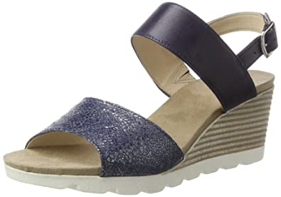Caprice Wedge sandals - blue wFphW