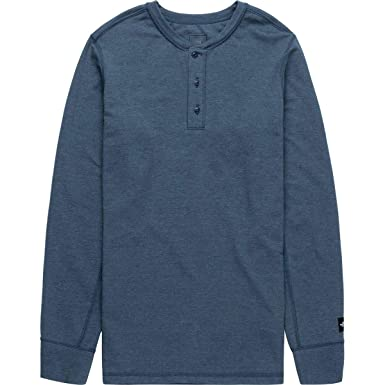 The North Face L/S TNF Terry Henley para Hombre - Rojo - Large ...