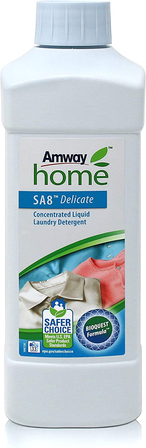 Amway Home SA8 Delicate Liquid Washing Detergent for Soft Clothes (500 mL)