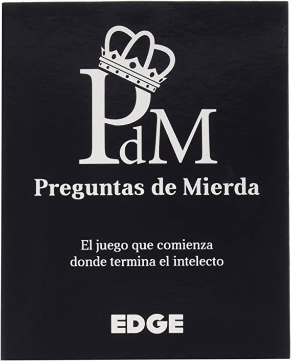 Edge Entertainment- Preguntas de Mierda, Color (EDGLA01): Amazon ...