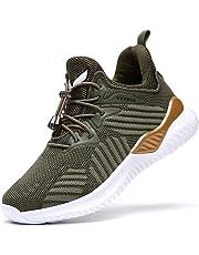 Garçon Fille Chaussure de Course Chaussures de Outdoor Sneakers Mode Basket  Chaussure de Course Sport Walking 54e8ab55f431
