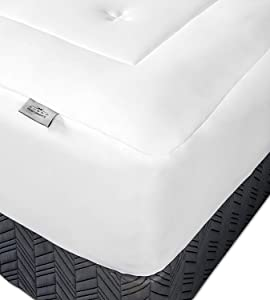 SHEEX Original Performance Mattress Pad Extra Cushion for a Better Night's Sleep, King