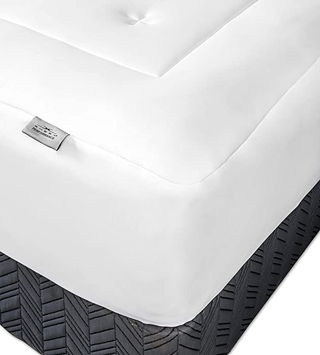 SHEEX Original Performance Mattress Pad Extra Cushion for a Better Night's Sleep, King