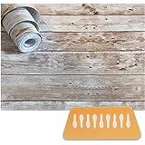 「RELIVE」壁紙シール 簡単 模様替え おしゃれ 木目 DIY【45cm× 10m】 (ヴィンテージホワイト)