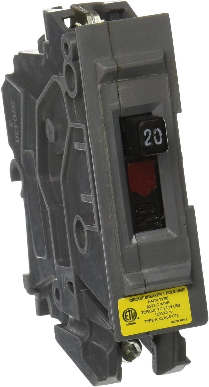 Wadsworth Type A 1 Pole 15 Amp 120//240 Volt Circuit Breaker