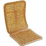 Carpoint 0310059 - Funda de bolas de madera para asiento, color beige