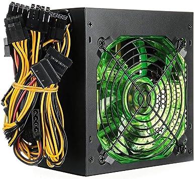 120MM 800W de Fuente de alimentación con Leds Ventilador de la ...