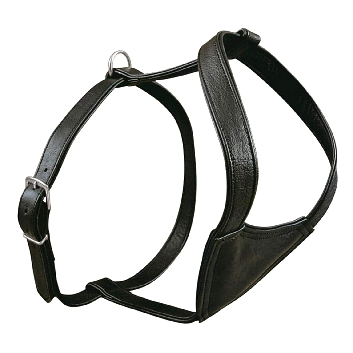 Trixie Active Dog Harness (L-XL  30-33.5in 30mm) (Black)