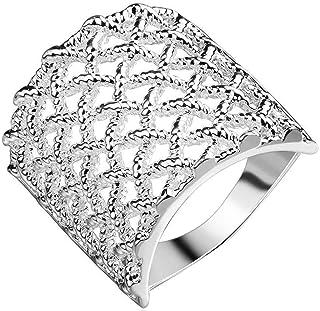 SaySure - 925 Silver Ring Jewelry Women&Men Finger Rings