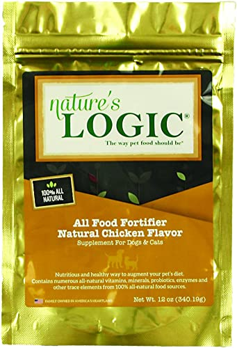 Nature s Logic All Food Fortifier Natural Chicken Flavor, 12oz
