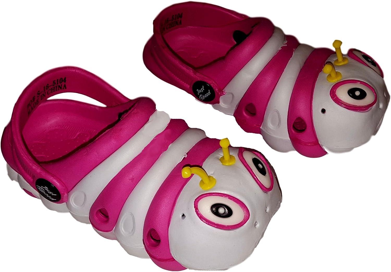 Toddler Kids Girls Boy Sandals Croc Caterpillar Summer Beach Slippers Flip Shoes
