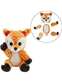"Animoodles Magnetic Rosie Deer Stuffed Animal Plush, 7.5"""