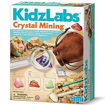 ToySmith 4M Crystal Mining Kit