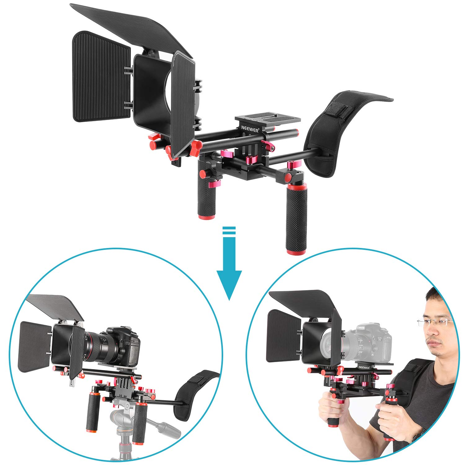 Neewer Camera Movie Video Making Rig System Film-Maker Kit..