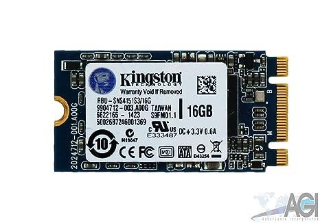 Kingston SATA III SSD M.2 16GB w/ Chrome OS C720 C720P RBU-SNS4151S3/16GD Internal Solid State Drives at amazon