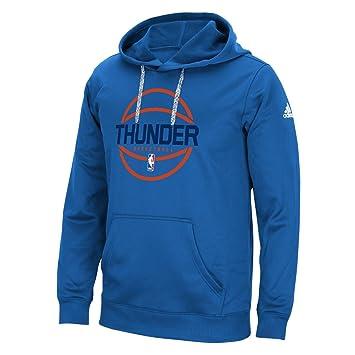 adidas Oklahoma City Thunder Climawarm Equipo cuestión de la NBA Hombres Sudadera con Capucha: Amazon.es: Deportes y aire libre