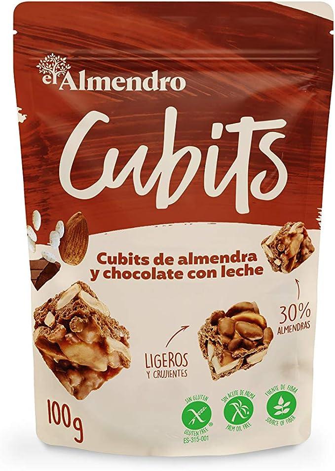 El Almendro - Cubits de Almendra y Chocolate con Leche 100 gr ...