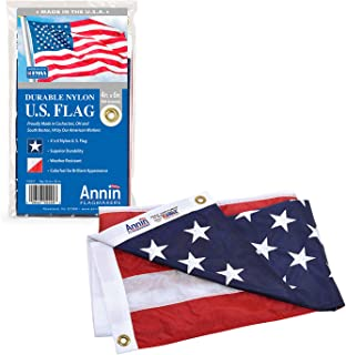 product image for Annin ANN002220 American Flag Nylon SolarGuard NYL-Glo, 4x6 ft, Red, White, Blue
