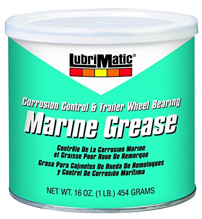 LubriMatic 11404 Marine Trailer Wheel Bearing and Corrosion Control Grease,  16 oz  Can