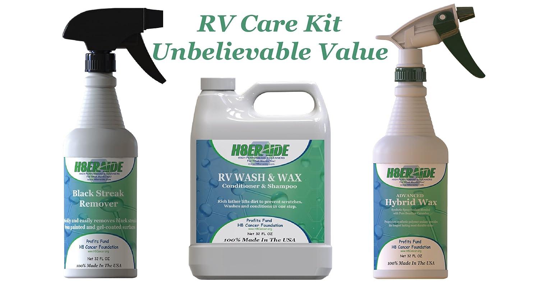 f870e6cc5303 Amazon.com  H8eraide RV Care Kit! - RV Wash   Wax 32oz