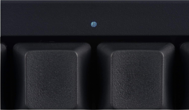 HHKB Hybrid Teclado PD-KB800BN, Teclas Vacías, Profesional Mecánico 60% Teclado, Bluetooth, USB-C (Carbón)