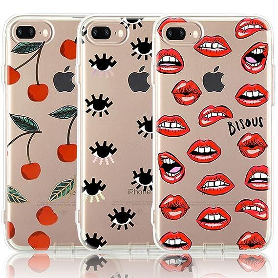 lips iphone 8 plus case