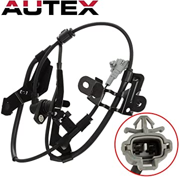 AUTEX ABS Wheel Speed Sensor Front Left 89543-35050 ALS732 compatible with 1996 1997 1998 1999 2000 2001 2002 Toyota 4Runner 2.7L 3.4L 1998 1999 2000 Toyota Tacoma 2.4L 4WD 3.4L 4WD 2.7L