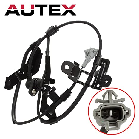 AUTEX ABS Wheel Speed Sensor Front Left 89543-35050 ALS732 compatible with  Toyota 4Runner 1996 1997 1998 1999 2000 2001 2002 2 7L 3 4L/Toyota Tacoma