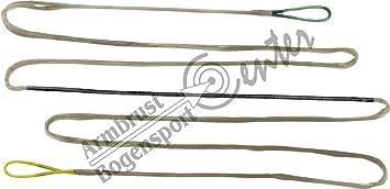 Bogenzubehör 10 bis 16 Stränge 60 Stück Nockpunkt