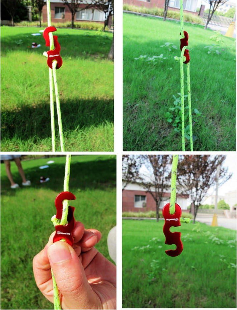 Jixin4you 5 piezas ajustables para tienda de campa/ña
