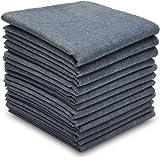 SelectedHanky Men's Pure Cotton Handkerchiefs, Colored Hankies Pack of 12