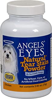 product image for Angels' Eyes NATURAL Tear Stain Prevention Powder for Dogs - 75 gram - Chicken Formula