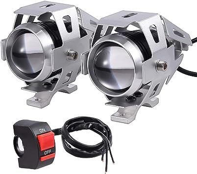 Prozor Motorrad Scheinwerfer 2 Wasserdicht Rostfrei Elektronik