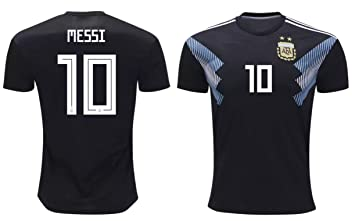 best website 0f072 e771b Lionel Messi #10 Argentina Soccer Jersey Away Adult Men's Sizes Football  World Cup Premium Gift (XL, Lionel Messi)