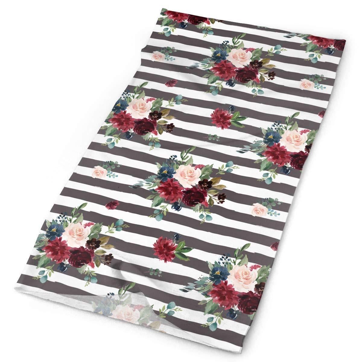 8e0719b6e569d Amazon.com: Bohemian Flower Art Outdoors & Daily Headwear,Bandana ...