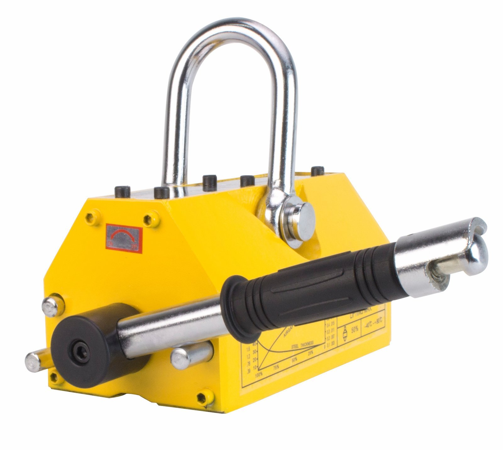 Steel Dragon Tools 1320 LBS 600 KG Magnetic Metal Lifting Hoist Shop Crane Neodymium Magnet