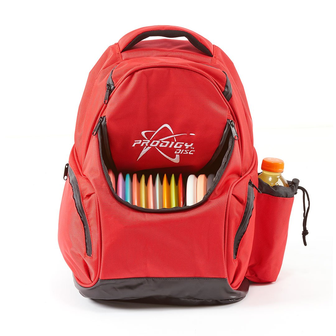 Prodigy Disc BP-3 Disc Golf Backpack (Red) by Prodigy Disc