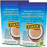 Tiana Organic Premium Raw Coconut Nectar 250 g (Pack of 2)
