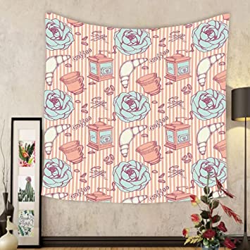 Amazon.com: Gzhihine Custom tapestry Decor Tapestry Shabby Chic Hand ...