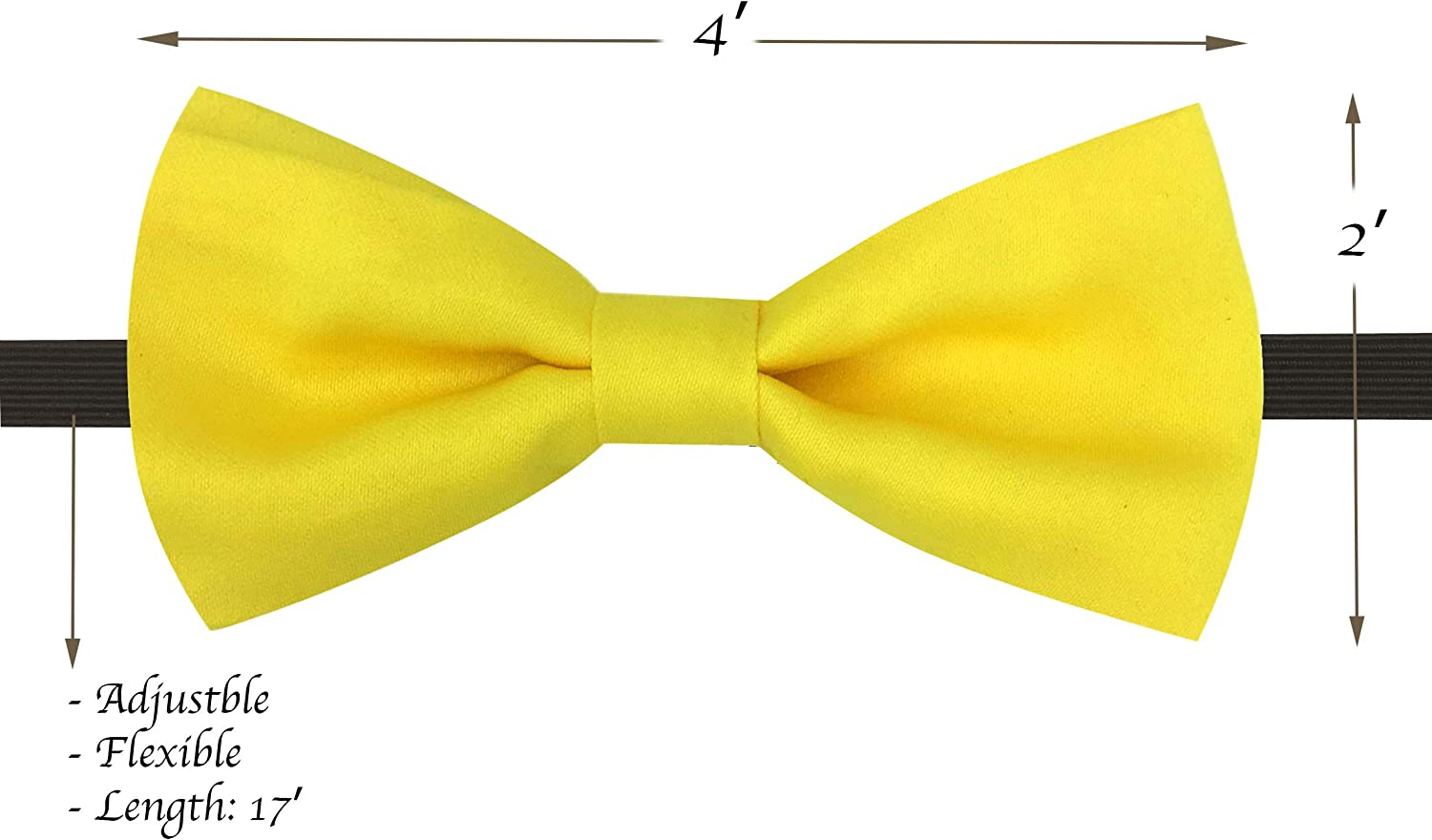 LORELAI Toddler for Boys and Girls Adjustable and Elastic Kids Suspender and Bow Tie Set