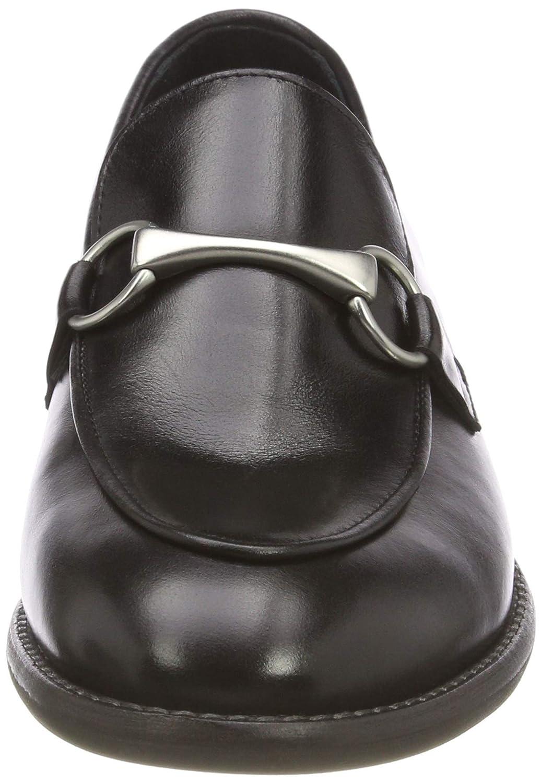 Marc O'Polo Damen Loafer Mokassin Mokassin Mokassin Schwarz (schwarz 990) 4f5f6f