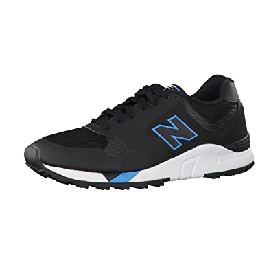 ccc1d202db New Balance 850 Black & Aqua Blue Lightweight Performance Trainers ...