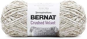 Bernat Crushed Velvet Yarn, Cream
