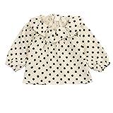 Little Girls Blouse Cotton Linen Blend Long