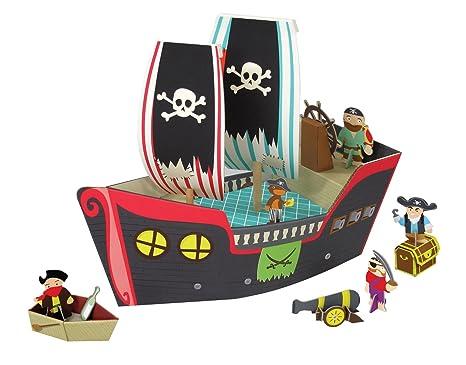 Krooom – Barco Pirata de Juguete