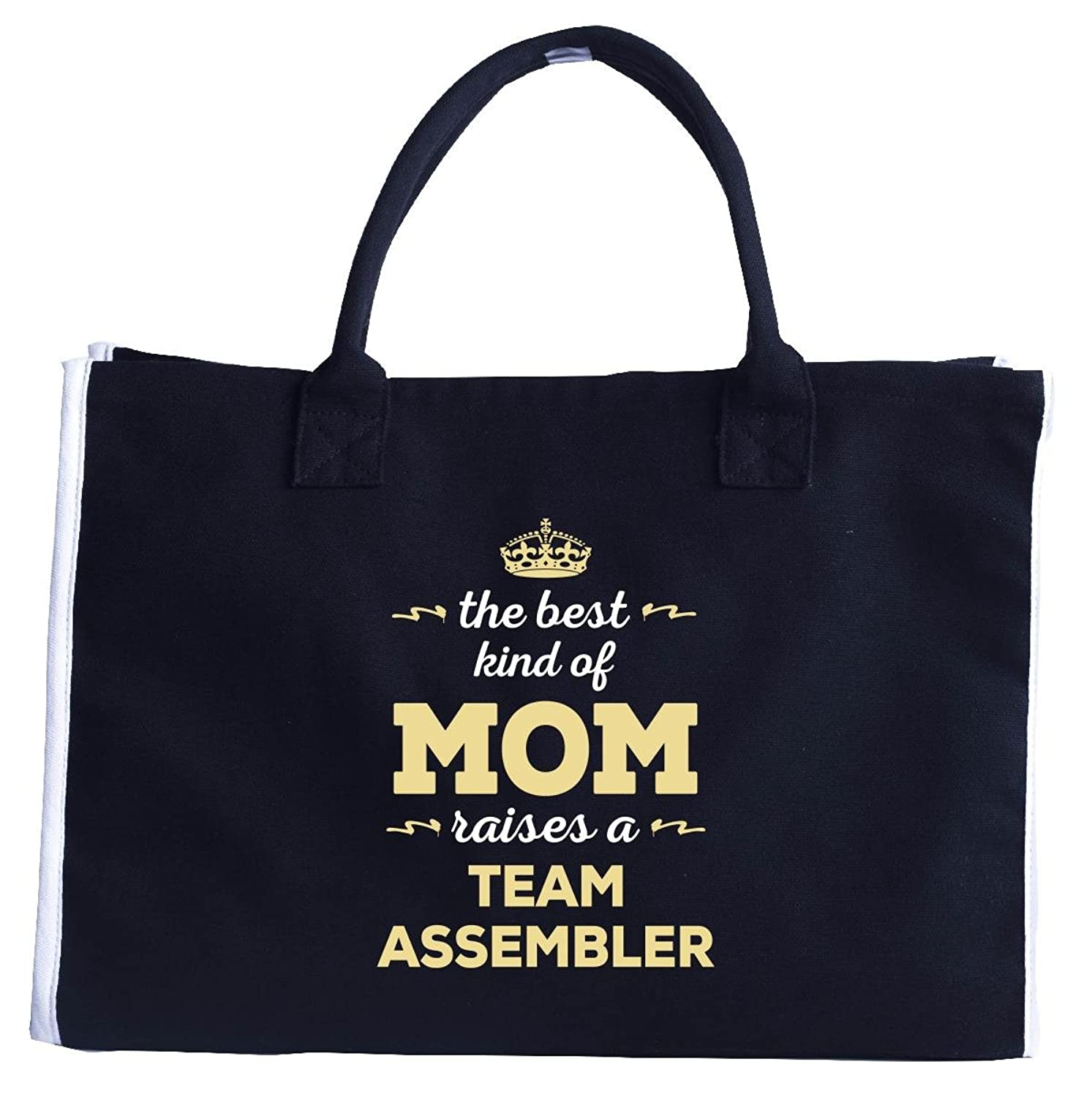 The Best Kind Of Mom Raises A Team Assembler. Gift For Mom - Fashion Tote Bag