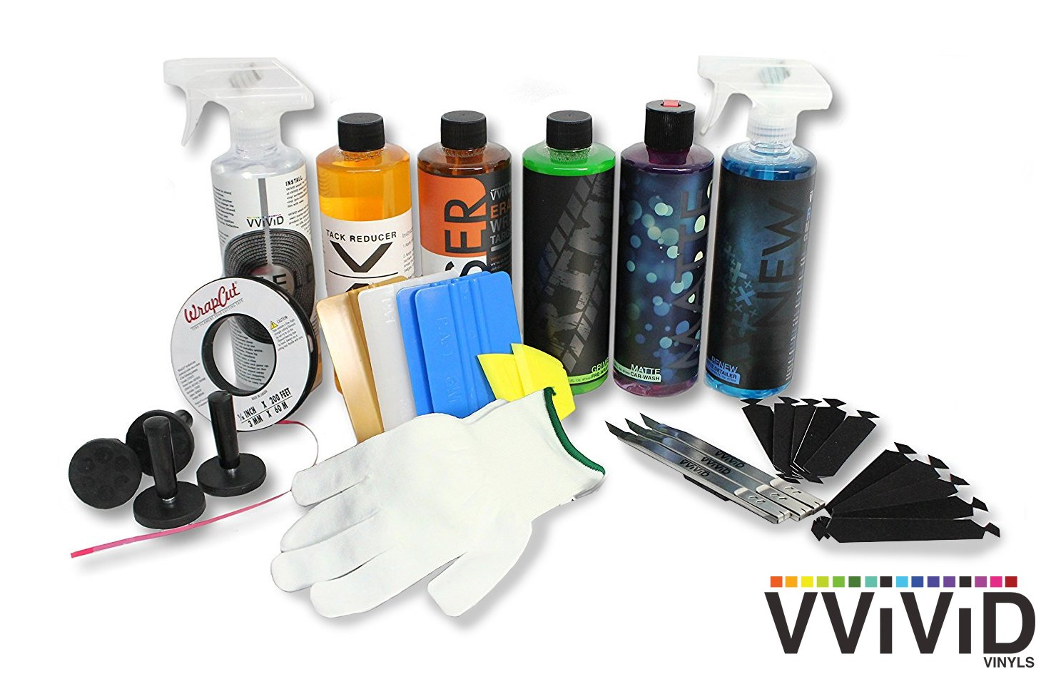 VViViD and 3M Complete Vinyl Wrap Master Toolkit Bundle