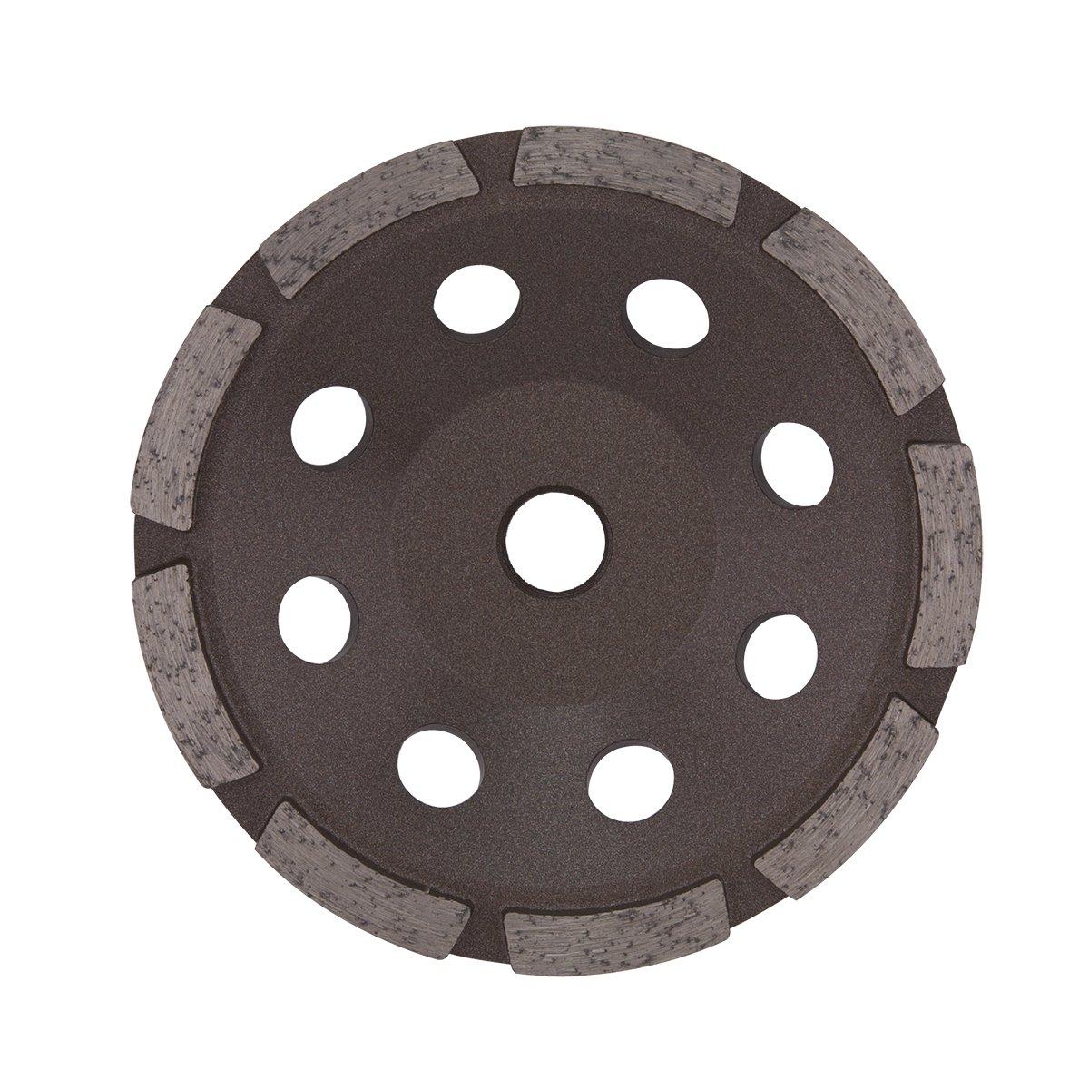 EAB Tool 2118805 4 1/2'' Cupstone Single Bronze Diamond Blade - Recyclable,