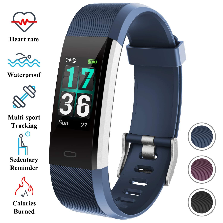 ITSHINY Pulsera Actividad Hombre Mujer, Pulsera Actividad Inteligente Reloj Pulsómetro Impermeable IP68 Podómetro Pulsera Deportiva Reloj Smartwatch ...